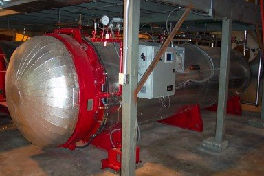 Moss Medical Waste Systems Include Retort Autoclave